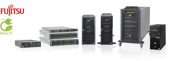 Fujitsu torony és rack szerverek